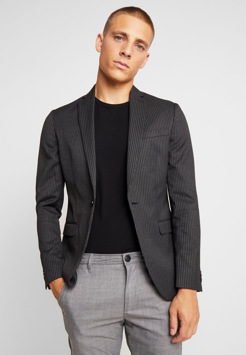 Topman - Suit jacket - dark grey