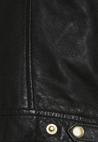 ONLY - ONLJULIA BIKER - Giacca di pelle - black - 6