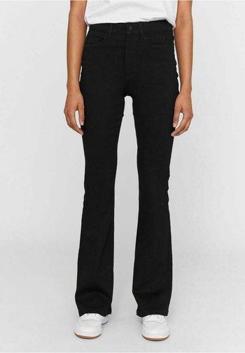 NMSALLIE  - Široké džíny - black