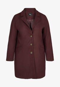 Zizzi - Classic coat - red - 1