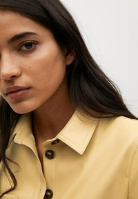 Mango - NASTIA - Shirt dress - giallo pastello - 4