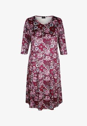 Maxi dress - bordeaux,rosé