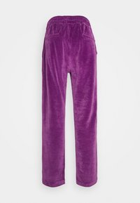 9N1M SENSE - TRACK PANTS UNISEX - Pantalon de survêtement - purple - 10