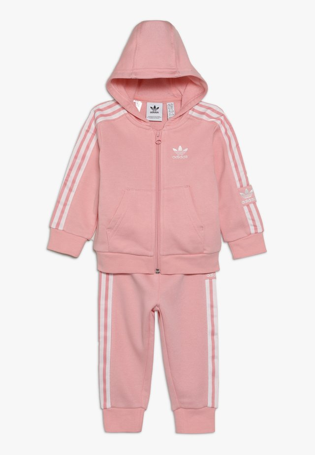 LOCK UP HOODIE SET - Trainingspak - light pink