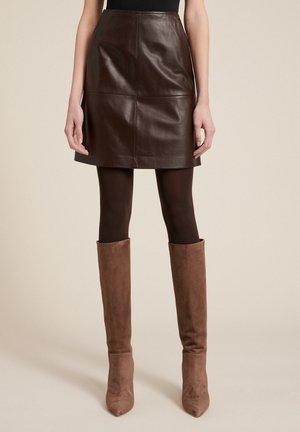 FELCE - A-line skirt - marrone