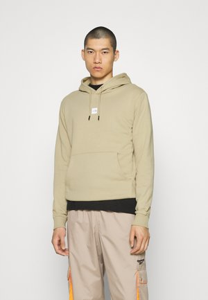 GRAPHIC HOOD - Sweat à capuche - twill beige