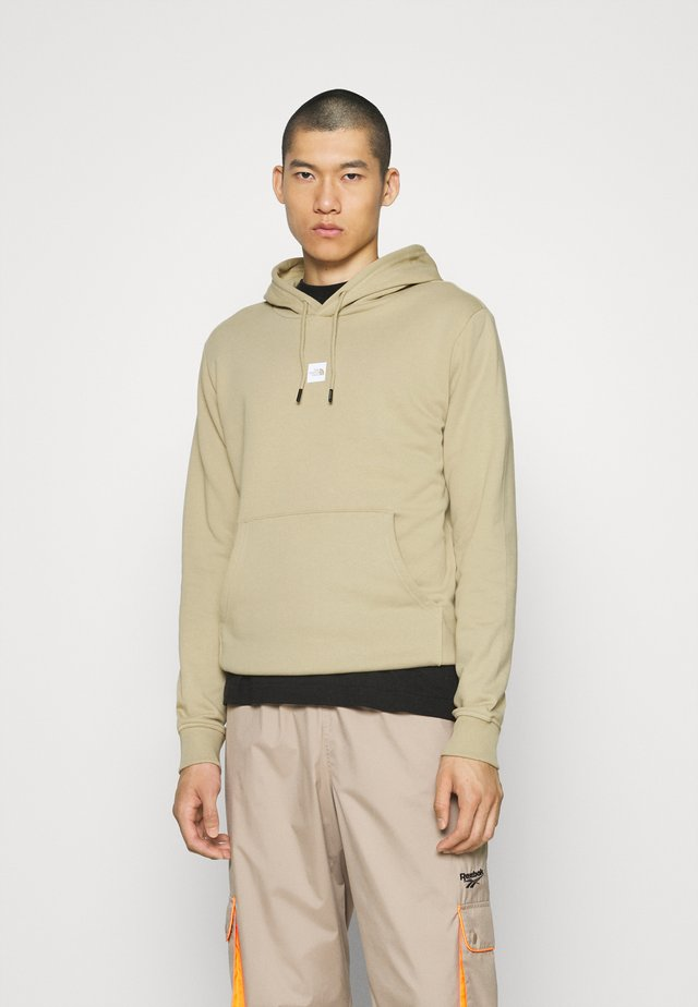 GRAPHIC HOOD - Jersey con capucha - twill beige