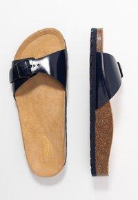 ONLY SHOES - ONLMADISON SLIP ON - Domácí obuv - blue - 3