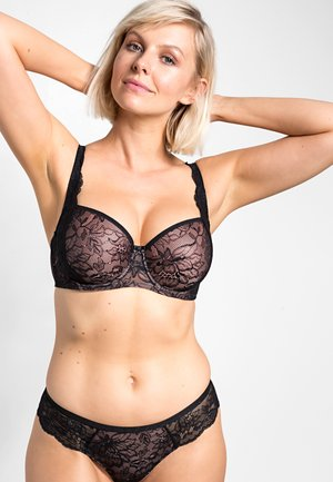 AMOURETTE CHARM - Underwired bra - black
