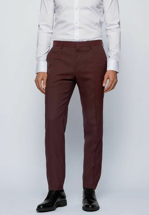 ESP GANDER - Pantalon de costume - dark red