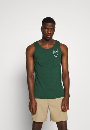 PALM OWL CHEST TANK - Linne - green