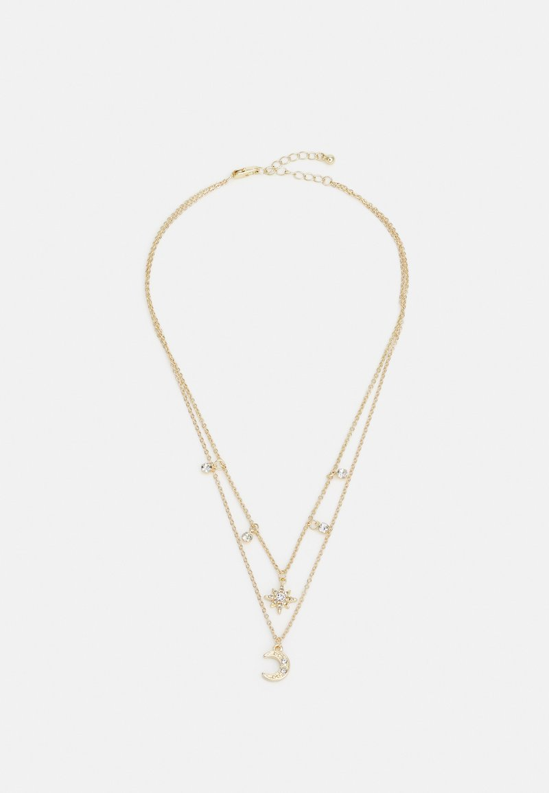 Pieces - PCPINA NECKLACE - Necklace - gold-coloured/clear