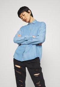 Mos Mosh - MARTINA - Button-down blouse - light blue - 0