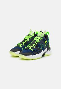 Jordan - WHY NOT ZER0.3 SE UNISEX - Basketball shoes - black/key lime/blue void/summit white/white/barely volt - 1