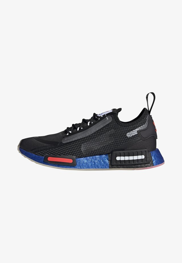 NMD_R1 SPECTOO UNISEX - Sneakers basse - core black/solar red