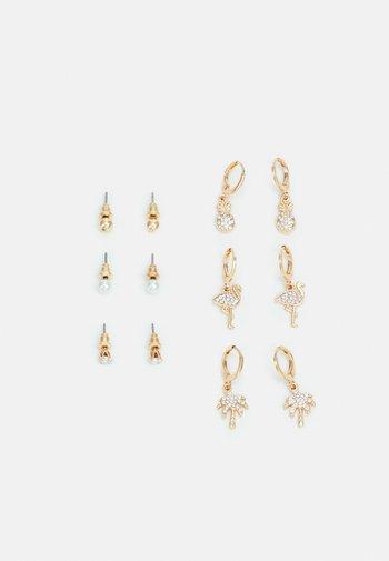 KONDALILLA 6 PACK - Earrings - gold-coloured