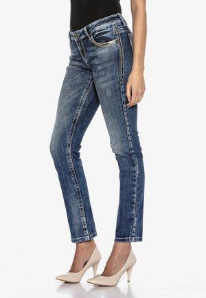 GOLDEN EMBLEM - Slim fit jeans - blau