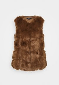Missguided - GILET - Waistcoat - brown - 4