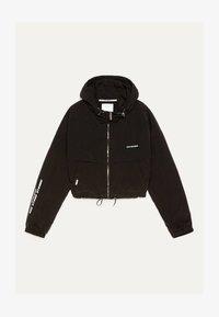 MIT KAPUZE  - Lehká bunda - black