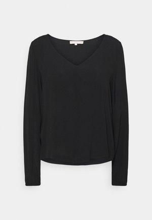 JUDITH  - Long sleeved top - black