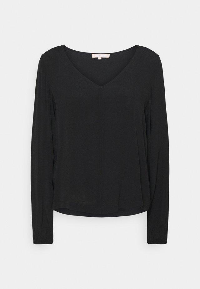 JUDITH  - Pitkähihainen paita - black