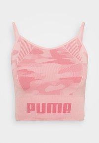 Puma - EVOKNIT SEAMLESS CROP - Sports shirt - bridal rose - 4
