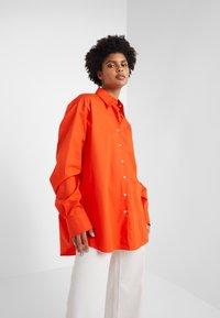 Rika - BLAZE  - Button-down blouse - orange - 0