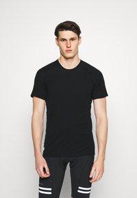 Mons Royale - TEMPLE TECH  - T-shirt basic - black - 0