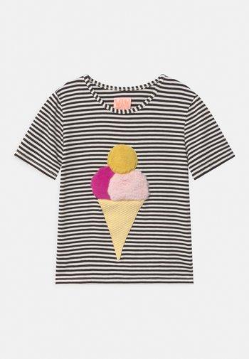 ICE ICE BABY - Print T-shirt - black/white