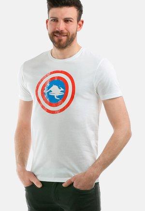IRON MAN - T-shirt con stampa - white