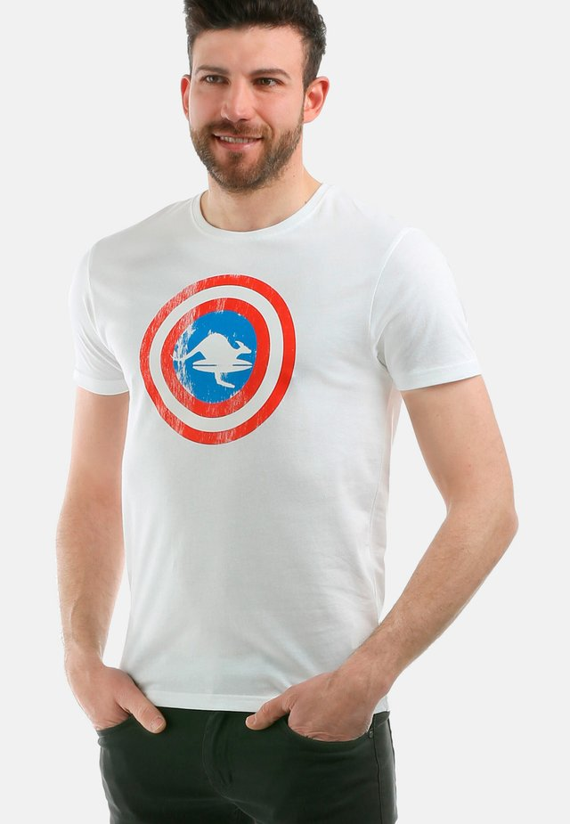 IRON MAN - T-shirt print - white