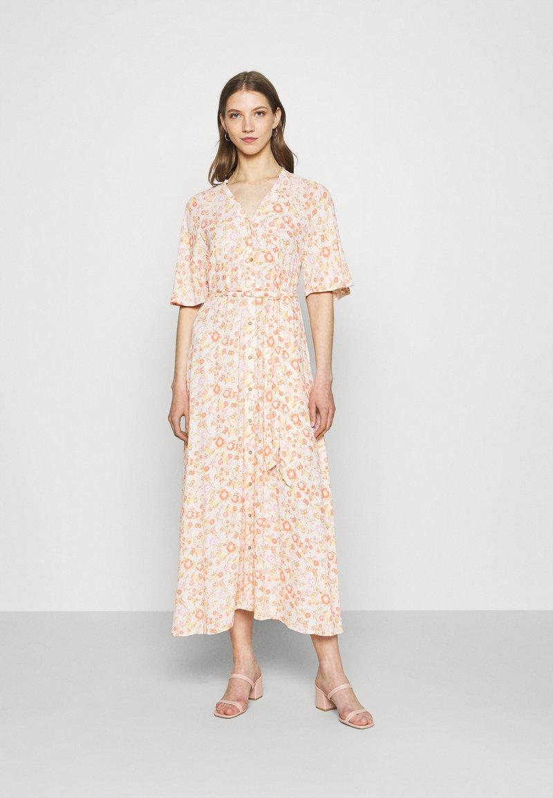 YAS - YASWIMA LONG DRESS - Vestito lungo - eggnog