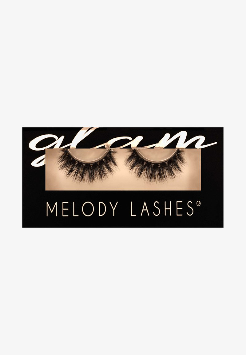 Melody Lashes - GLAM MELODY - False eyelashes - black