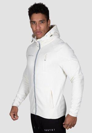 Zip-up hoodie - cremeweiß