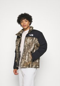 The North Face - HIMALAYAN INSULATED JACKET - Veste d'hiver - kelp tan forest floor - 0