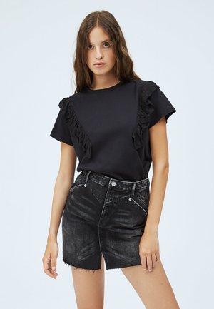 FANCY - Print T-shirt - coal