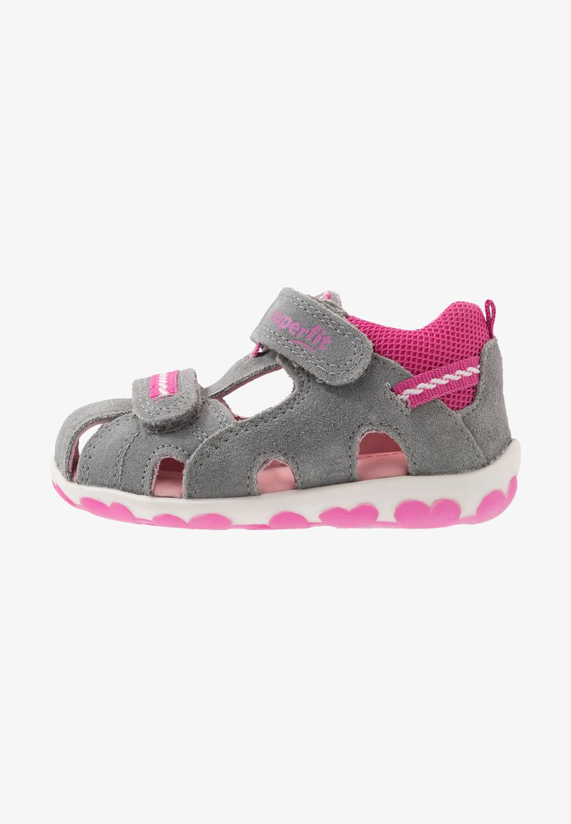 Superfit - FANNI - Baby shoes - grau