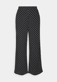 ONLY Petite - ONLPELLA PANTS - Broek - black/cloud dancer - 1