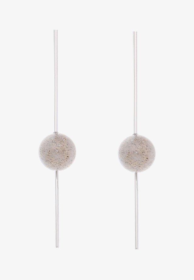 OHRHÄNGER EDELSTAHL - Boucles d'oreilles - silver-coloured