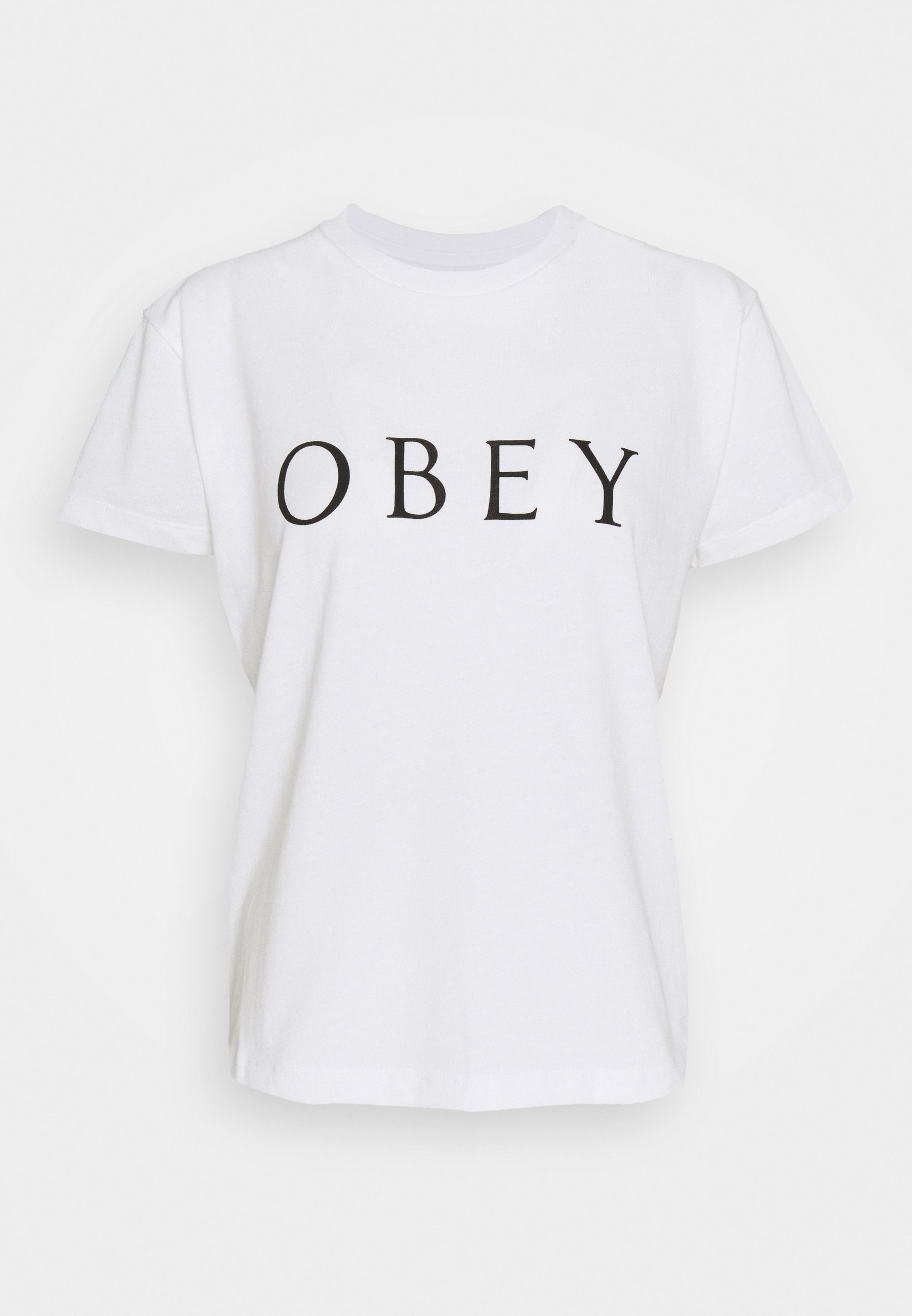 Obey Clothing Novel - T-shirts Med Print White/hvit