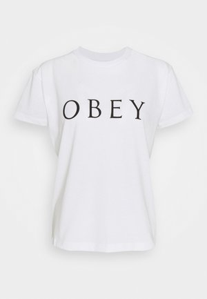 NOVEL - Print T-shirt - white
