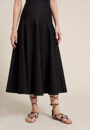 Áčková sukně - nero
