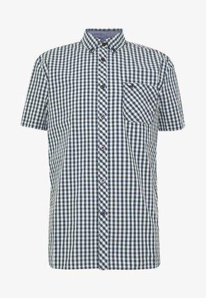 COLLIN - Shirt - black/white