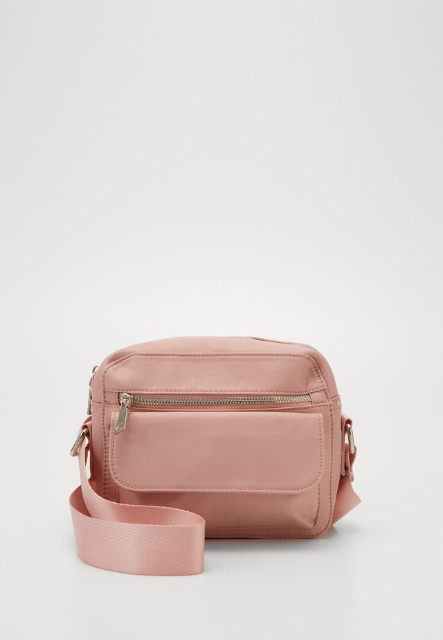 HALLI - Schoudertas - dusty pink