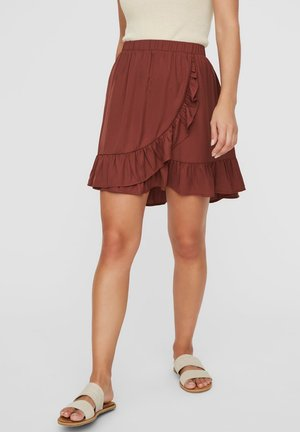 A-line skirt - sable