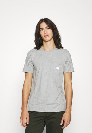 SQUARE POCKET - T-shirt basic - grey