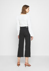 Levi's® - MILE HIGH BUTTONS - Flared Jeans - dust and ash - 2