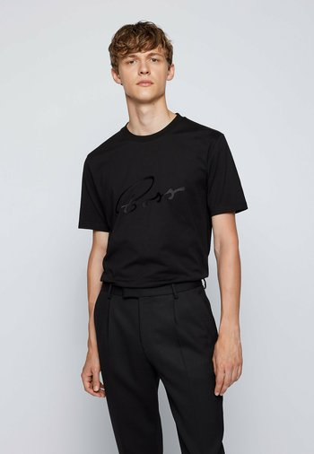 TIBURT - Print T-shirt - black