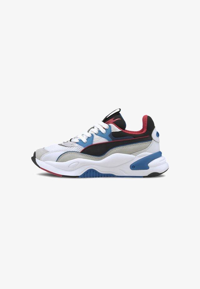 Sneaker low - puma white-lapis blue