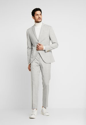 NEUTRAL CHECK SUIT - Oblek - light grey